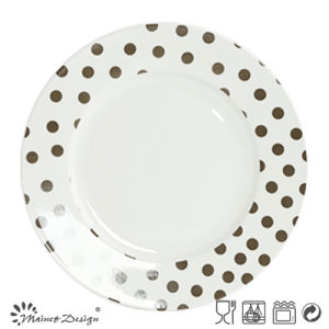 Classic design 16PCS Porcelain Dinner Set with DOT pictures & photos