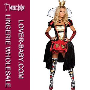 Deluxe Fancy Queen Outfit Women′s Halloween Costume (L15277) pictures & photos