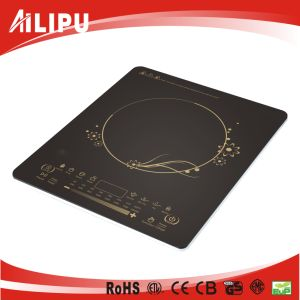 Kitchen Appliance Newest Design Hot Selling Utral Slim Slide Control Induction Cooker Sm-A37 pictures & photos