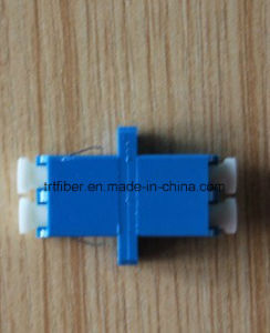 Singlemode LC Duplex Fiber Optic Adapter pictures & photos