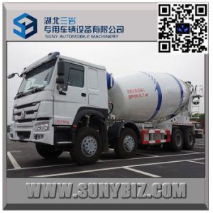 HOWO 12 Wheeler 16 Cubic Metre Cement Mixer Truck