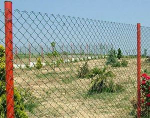 China Supplier of Chain Link Fence Diamond Fence Mesh with High Quality pictures & photos