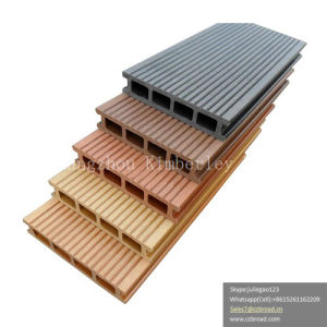 Outside Wood Plastic Composite WPC Terrace Decking Board pictures & photos
