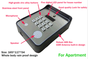 Newest Gate GSM Intercom Series 1000 pictures & photos
