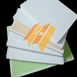 PVC Gypsum Ceiling Tile Wall Panel / Plaster Ceiling Board pictures & photos