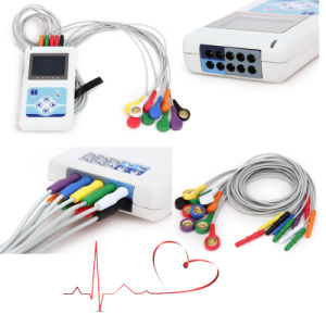 CE Approved 12-Channel 24-Hour Holter (Cardioscope CS-12CL) -Fanny pictures & photos