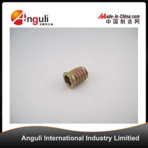 M6 M8 Zinc Alloy Inside and Outside Teeth Wooden Furniture Insert Nut No Interface pictures & photos