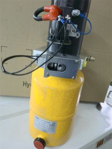 24V DC 0.8kw Solienoid Hydraulic Power Unit with Check Valve, Relief Valve, Throttle Valve pictures & photos