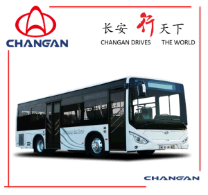 8-9 Meter City Bus, Diesel Bus Changan Brand pictures & photos