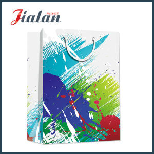 Customized Full Color Printing Luxury Gift Paper Bag pictures & photos