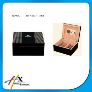 The Factory Supplies High-Quality High Gloss Cigar Box pictures & photos