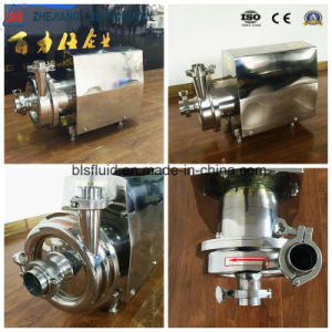 Stainlesss Steel Food Grade Sanitary Centrifugal Pump pictures & photos