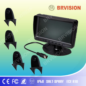 Review System/7 Inch Digital Monitor/Shark Mount Braket Camera pictures & photos