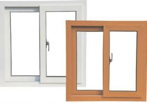 Conch 60 Sliding Co-Extrude Bi-Color PVC/U-PVC Window pictures & photos