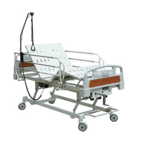 Three Function Electric and Manual Hospital Bed pictures & photos