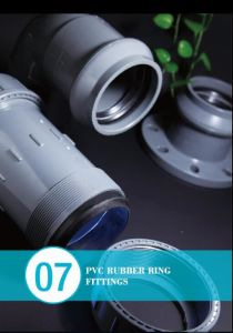 PVC Rubber Ring Fitting with Gasket for Irrigation pictures & photos