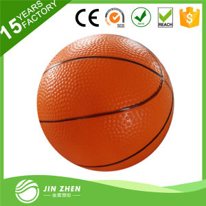 Mini Toy Basketball Sporting Goods PVC Plain Line Ball