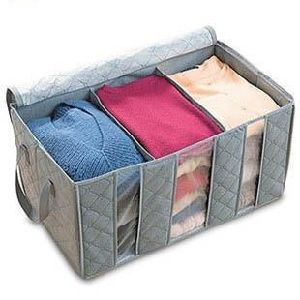 Low Price Non-Woven Folding Organization with Handle pictures & photos