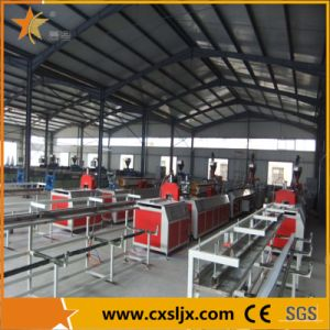 WPC Windows and Door Profiles Extrusion Production Line pictures & photos