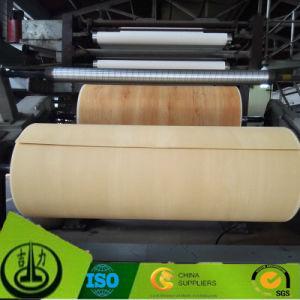 Red Sandal Wood Grain Melamine Paper as Floor Paper pictures & photos
