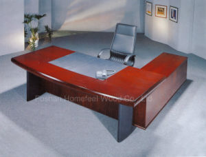 Luxury L Shape Manager Table Office Furniture (HF-LTA0087) pictures & photos
