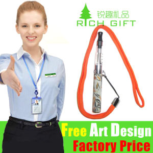 Custom Printed Polyester Neck Strap for E CIGS pictures & photos