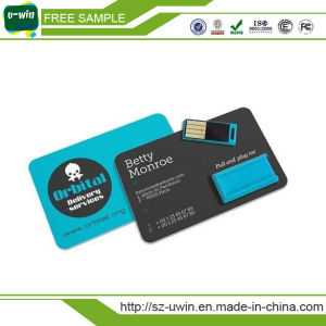 2017 Wholesale OEM Credit Card USB Flash Memory Stick (uwin-169) pictures & photos