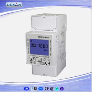 Single Phase Multifunction Mbus Type Solar Kwh Electricity Meter Sdm220-Mbus pictures & photos