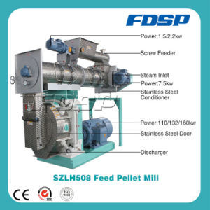 Animal Feed Pellet Machine with 6-20tph Capacity for Sale pictures & photos