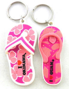 Mini Shoe Keychain Fashion Promotional PVC pictures & photos