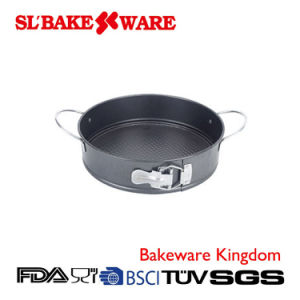 Springform with Handle Carbon Steel Nonstick Bakeware (SL BAKEWARE) pictures & photos