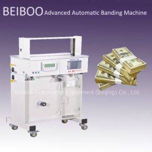 Automatic Banknote or Money Strapping/Banding Machine (RS02-30B) pictures & photos