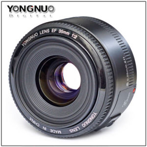 Yongnuo Ef 35mm F2.0 Wide-Angle Fixed Auto Focus Lens for Canon DSLR Cameras pictures & photos