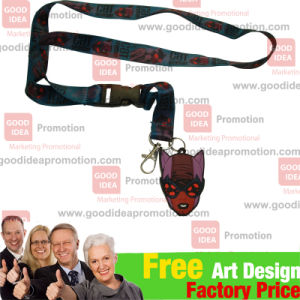 Promotional Lanyard with Logo and Company Name pictures & photos