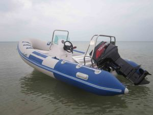 China Fiber Glass High Speed Rigid Inflatable Boat (RIB) pictures & photos