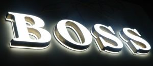 High Quality Stainless Steel Both Side LED Channel Letter Sign pictures & photos