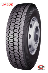 Drive Position Closed Shoulder on Road Service Radial Truck Tire (235/75R LM508) pictures & photos