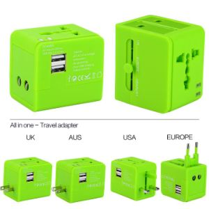 Newest Au/Us/UK/EU Plug Travel Charger for Worldwide Use
