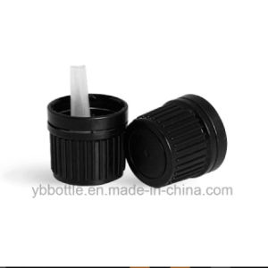DIN18 European Dropper Bottles Cap with Plastic Inserts for Therapy Oil Bottles