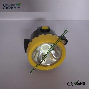 2.2ah LED Cordless Mining Cap Lamp