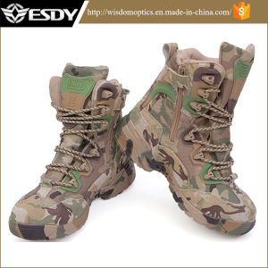 Esdy Cp Camo Us Military Army Assault Tactical Combat Boots pictures & photos