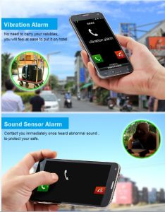 Flashlight GPS Tracker Smart for Your Traveling Security Magnetic Vibration Sound Sensor Alarm pictures & photos
