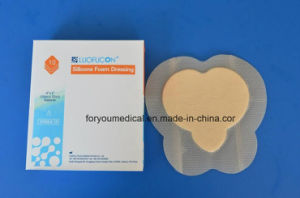 Self Adherent Soft Silicone Foam Dressing with Ce FDA pictures & photos