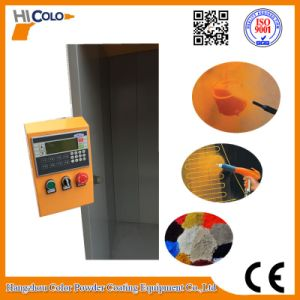 Open Four Filters Powder Painting Booth PLC Control Box   Economic Powder Saving pictures & photos