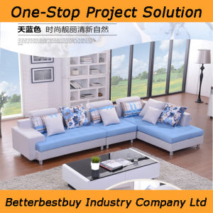 Blue Color Sofa with Competitive Price pictures & photos