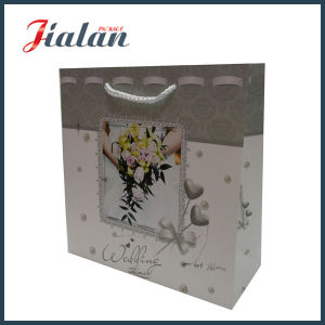 Custom Cheap Colorful Printing Logo Made Wholesales Paper Wedding Bag pictures & photos