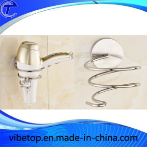Quality Gold/Silver Color Hair Dryer Holder for Wholesale pictures & photos