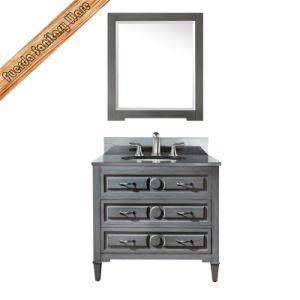 Wooden Bathroom Cabinet with Sink Bathroom Vanity pictures & photos