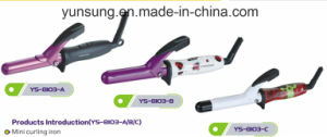 2017 Travel Mini Portable Hair Curling Iron Hair Curler with Instant Heat pictures & photos