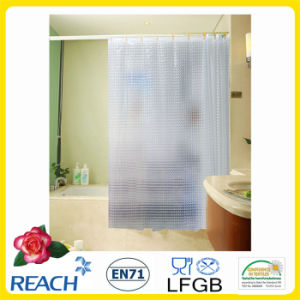 PVC Shower Curtain Solid Colors pictures & photos